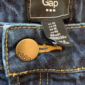 GAP Shorts - Gap Shorts Dark Denim